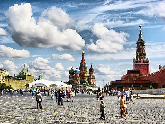 Некрополь у Кремлевской стены на Красной площади в Москве