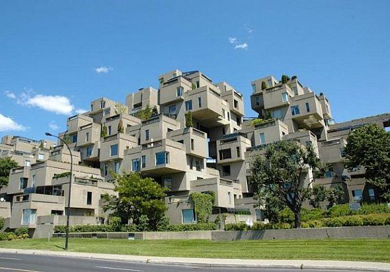 Необычный жилой комплекс