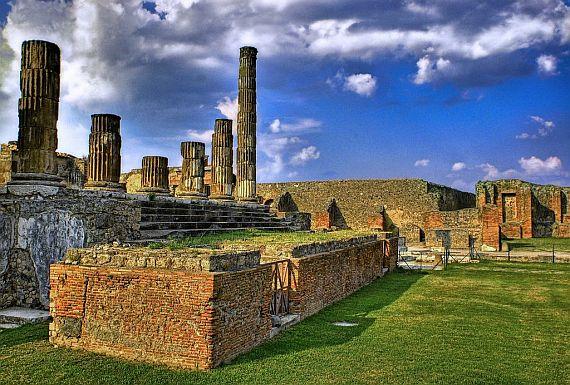 Помпей - древний город уничтоженный лавой и пеплом