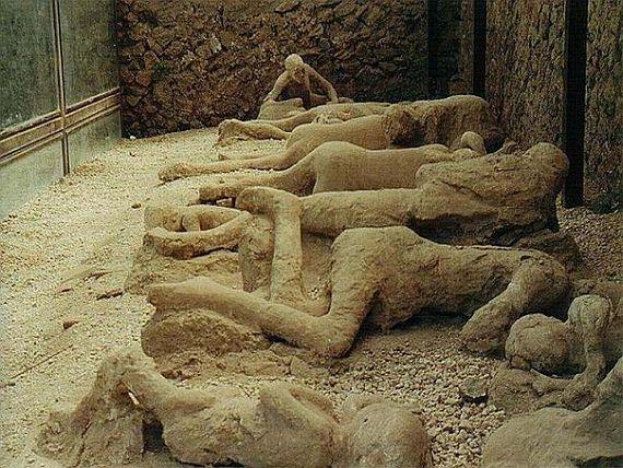 Помпей - мертвые люди