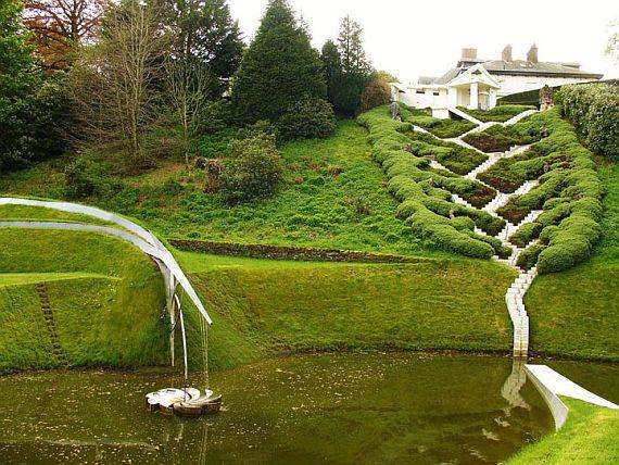 Шотландия, космический сад