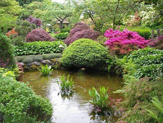 Сады Бутчартов красивое место