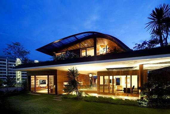 чудесный дом в Сингапуре
