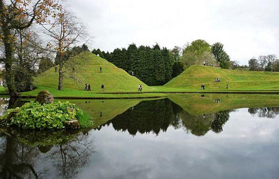 космический сад в Шотландии