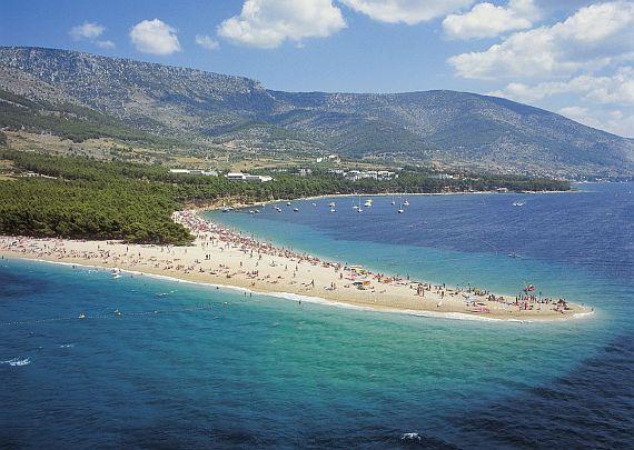 пляж в Хорватии