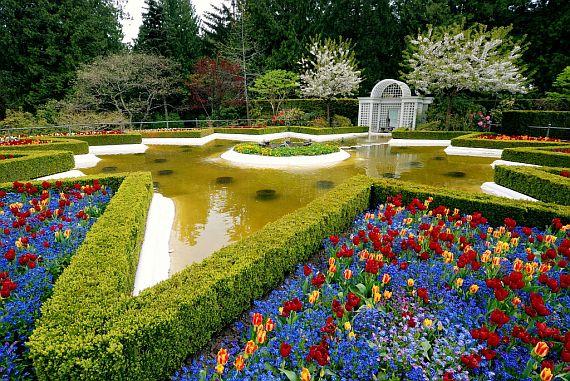 романтическое место сад бутчартов