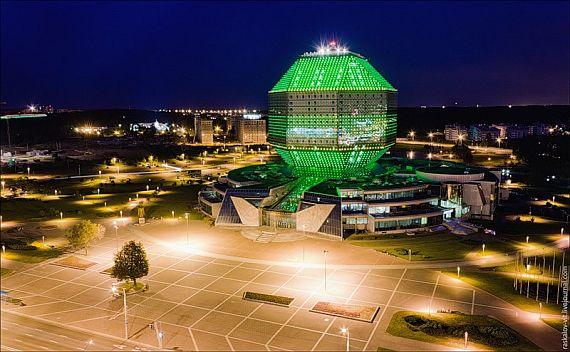 Минск. Национальная библиотека Беларуси