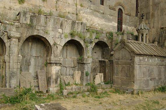 Монастырь в Армении Татевский