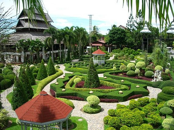 Тайланд, парк нонг нуч фото