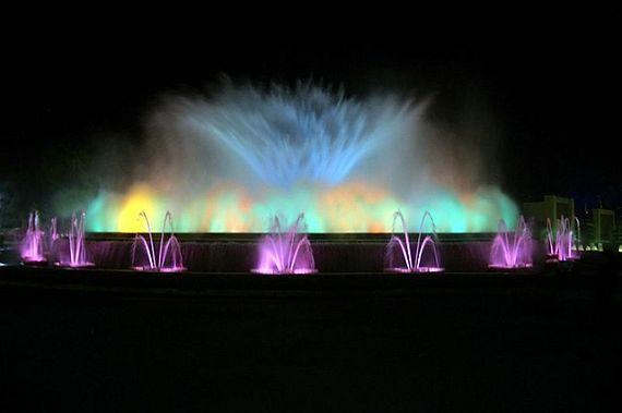 фото барселона поющие фонтаны