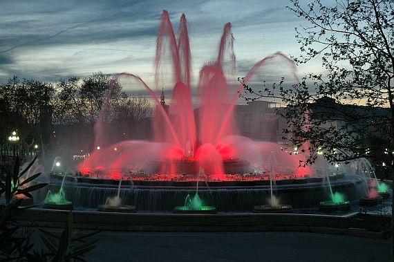 монжуик фонтан