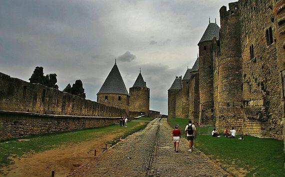 Каркассон - средневековый город Франции