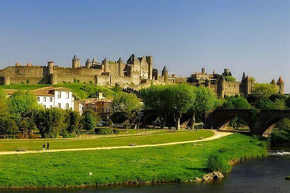 Каркассон - средневековый город
