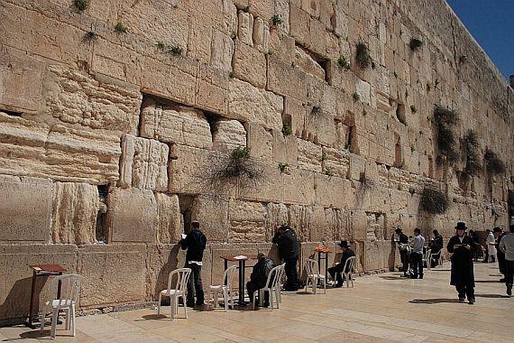 израиль стена плача