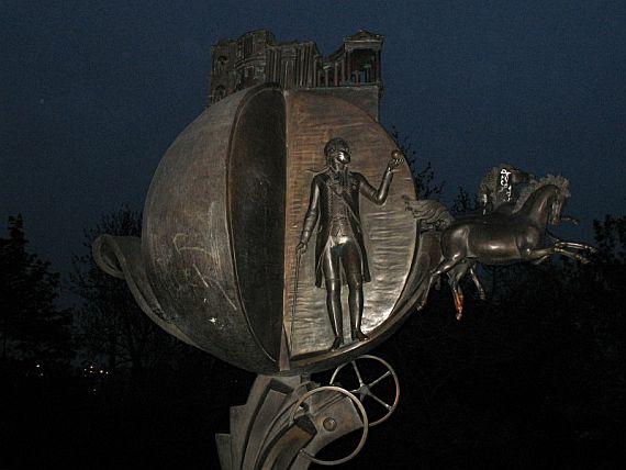 памятник апельсину город Одесса