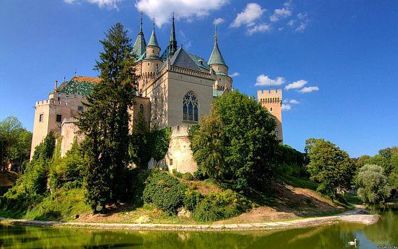 замок в словакии