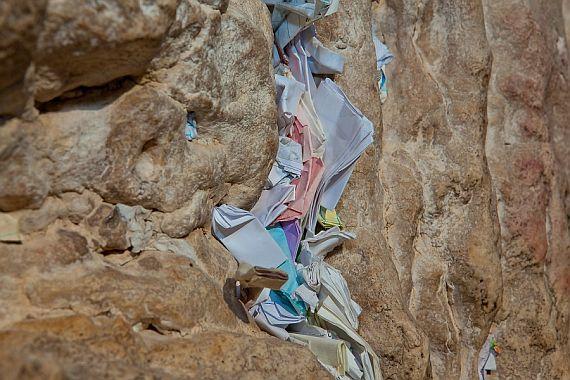 записки в стене плача в Иерусалиме