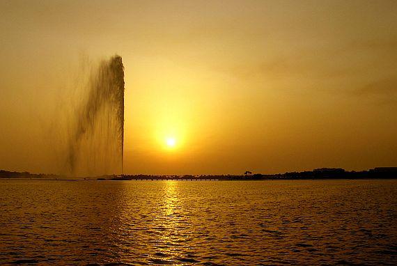 Фонтан Фахда - самый высокий фонтан в мире