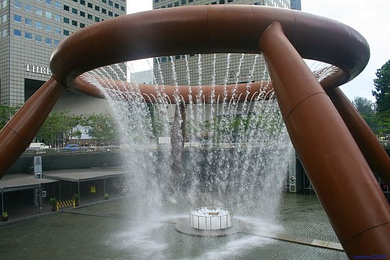 Сингапурский фонтан