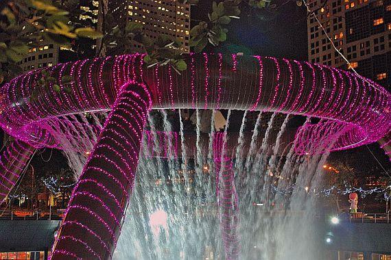 фонтан богатства сингапур