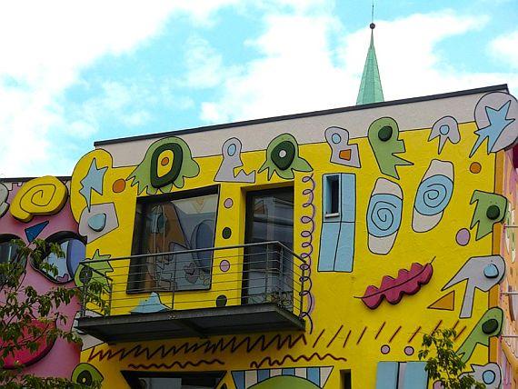 Разрисованный дом рицци