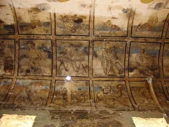 Castelul-Quseir-Amra-din-Iordania-fresca
