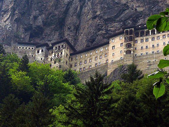 Монастырь Панагия Сумела1