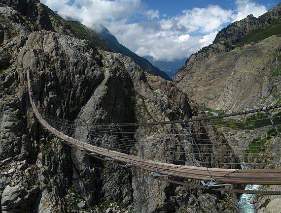 Висячий мост Трифт