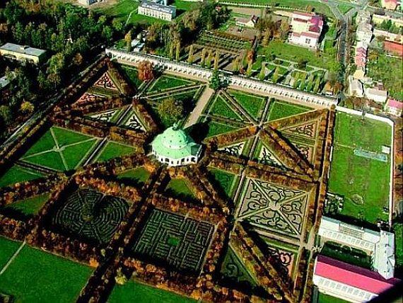 Замок Кромержиж, прекрасные сады