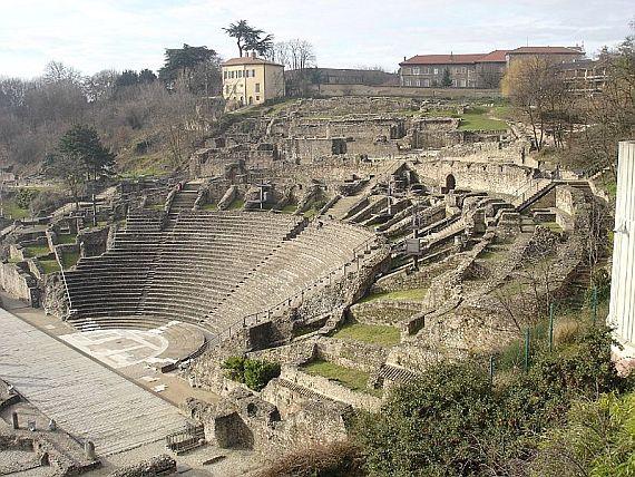 Античный театр города Лион