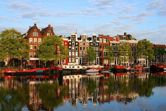 Амстердам как Венеция