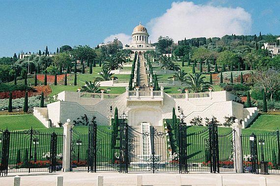 Хайфа Бахайский храм