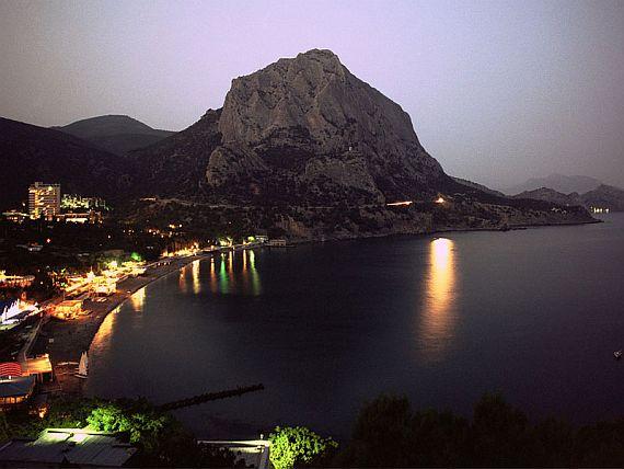 Крым. Поселок новый свет