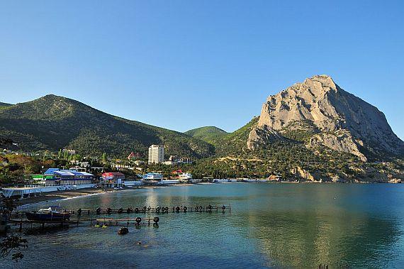 Курортный поселок Новый свет в Крыму