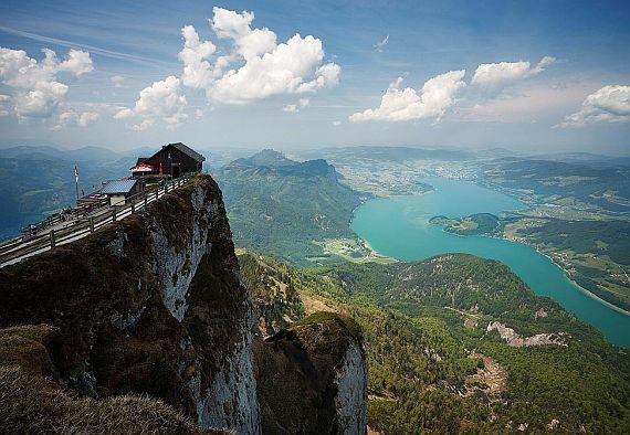 дом в Австрии на горе Шафберг