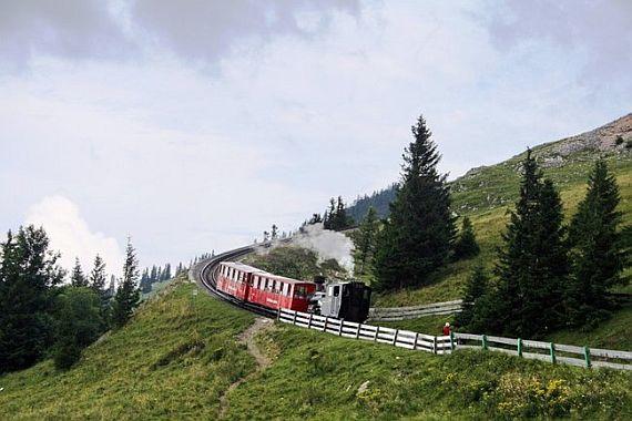 Железная дорога на гору Шафберг