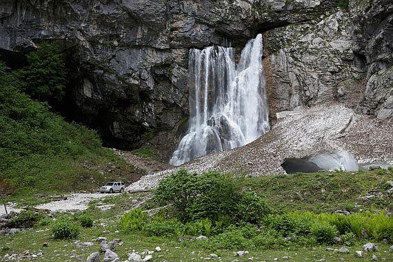 Гегский водопад. Абхазия