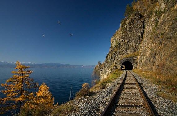 Кругобайкальская железная дорога2