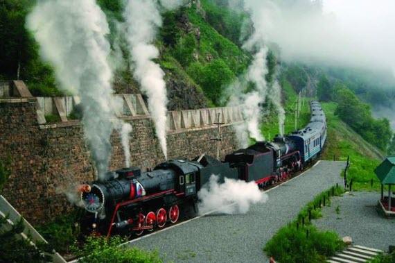 экскурсия по кругобайкальской железной дороге