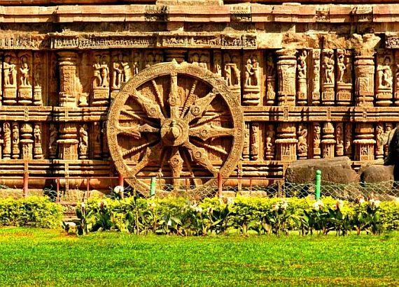 Храм Солнца в Конараке, колесо