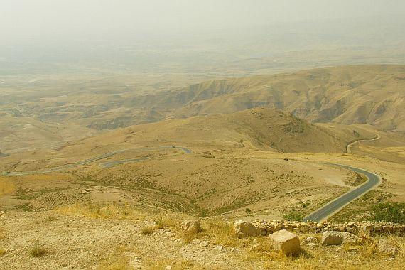 Иордания холмы
