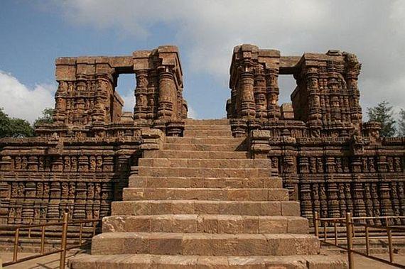 Лестница в Храм Солнца в Конараке