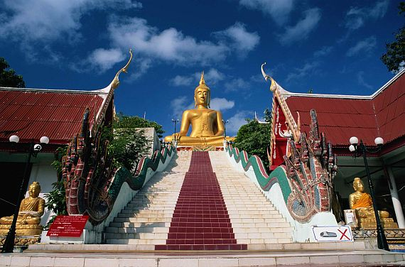 Большой Будда на острове Самуи