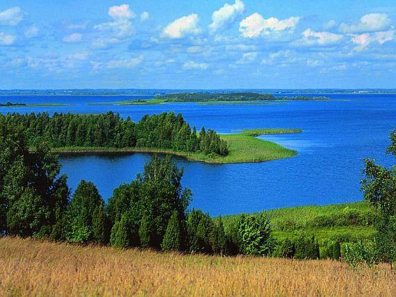 Браславские озёра в Белоруссии