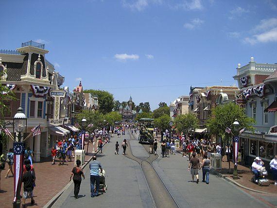 Диснейленд Main street U.S.A