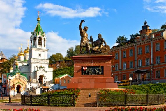 Нижний Новгород-Гороховец. Тур с выездом из Саратова