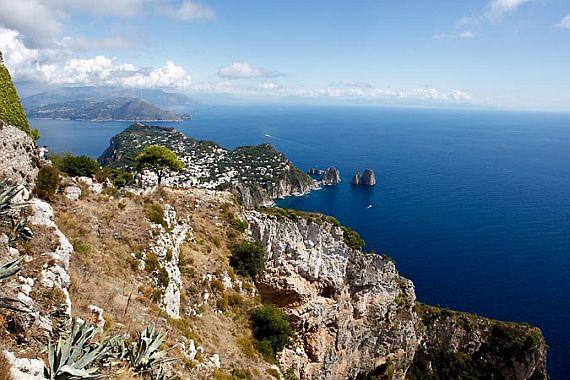 Фото острова Капри