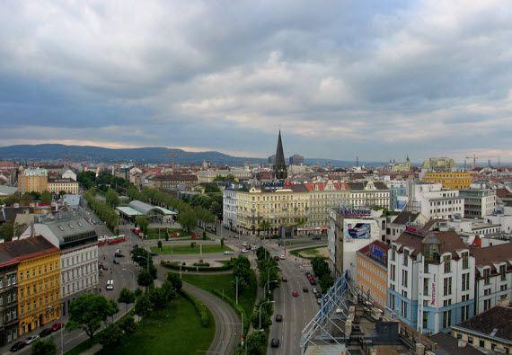 Город Вена. Австрия