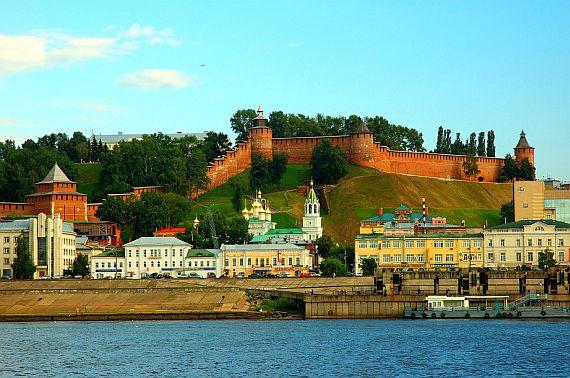 Каменный Кремль в Нижнем Новгороде