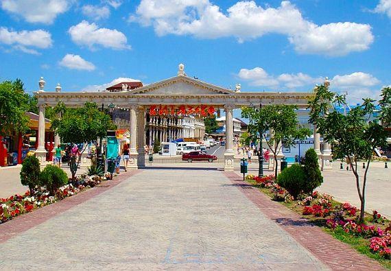 Курортный поселок Витязево